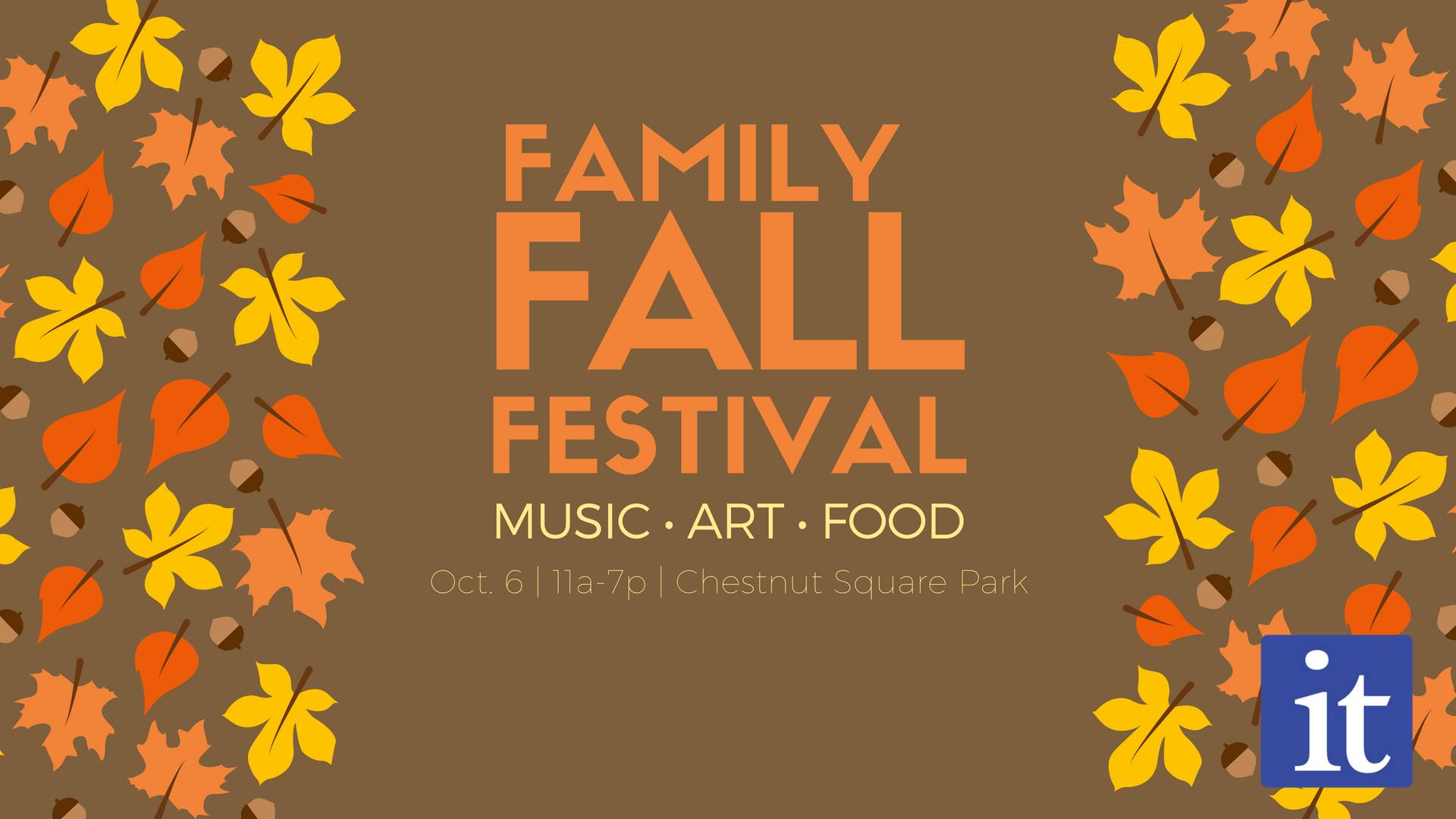 Fall Festival promotional material