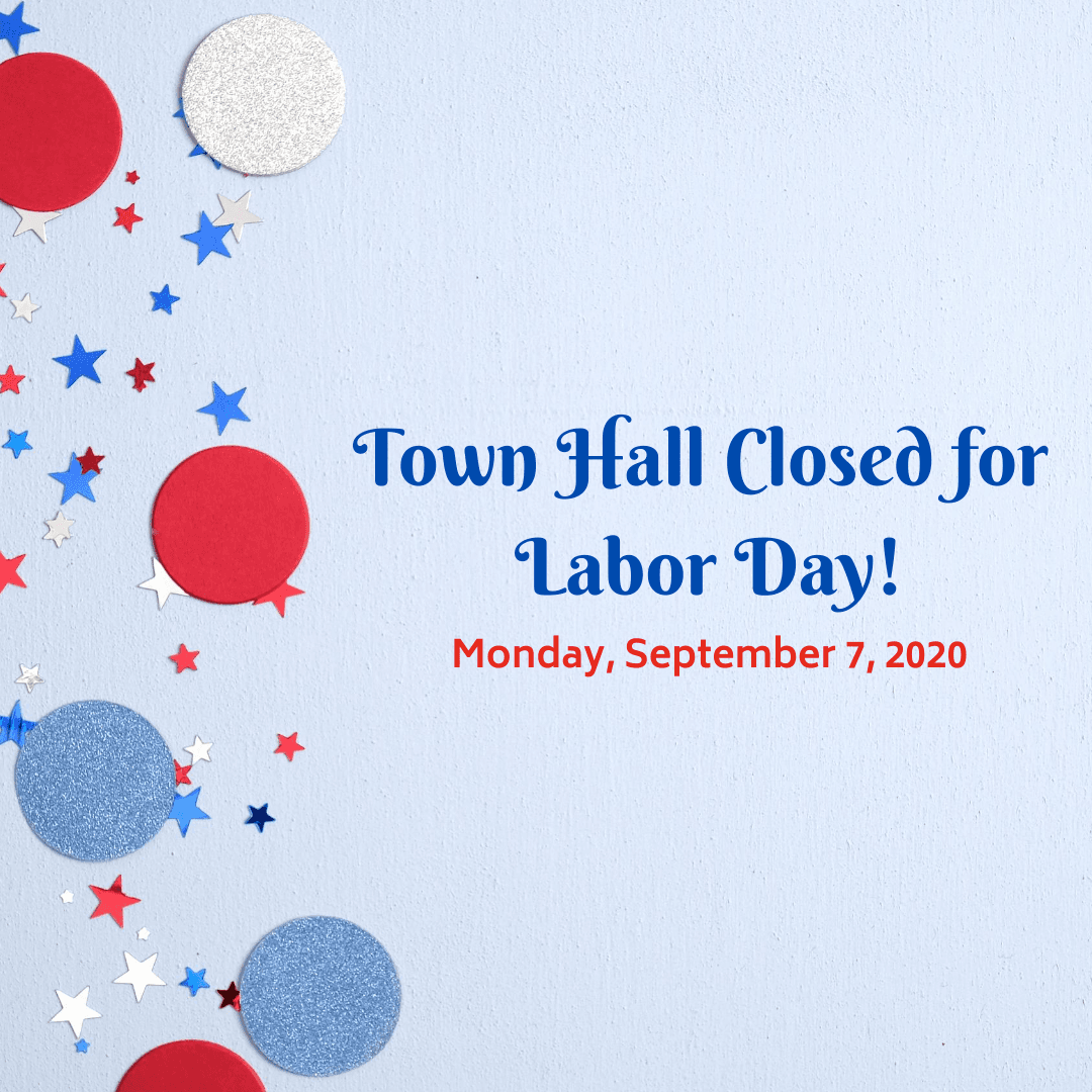 Indian Trail Town Hall Closed for Labor Day
