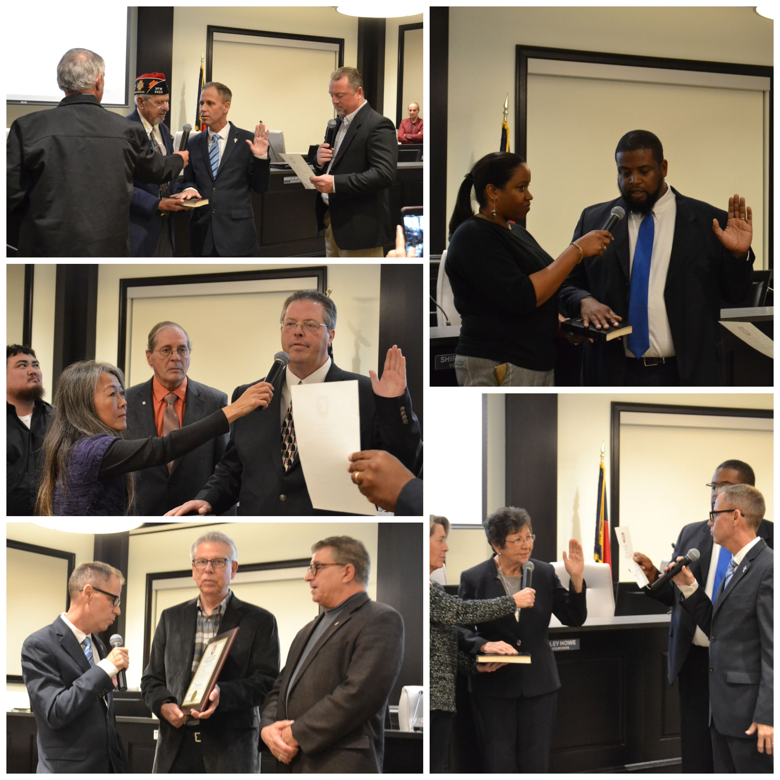Council Swearing-In Photos