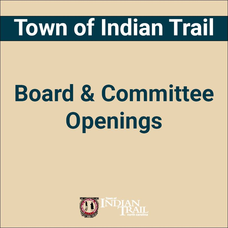 Board and Committee Openings