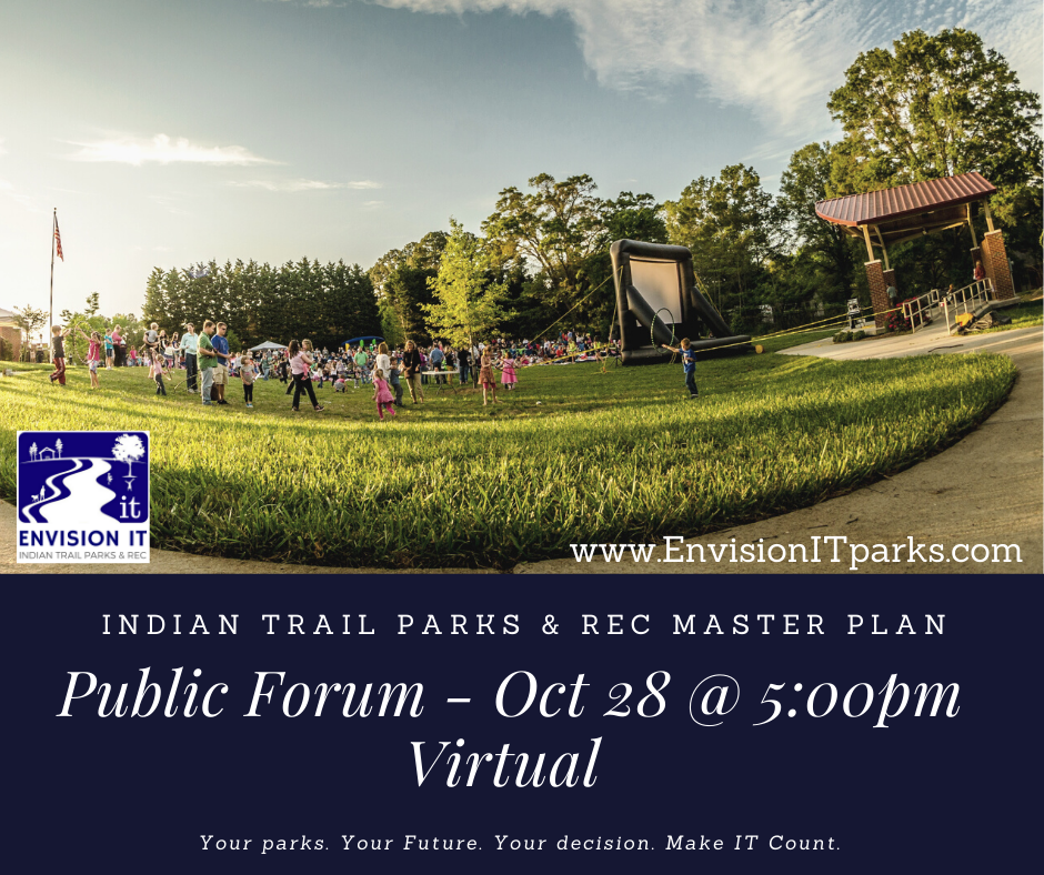 Virtual Public Input Session - Oct. 28 and 5pm