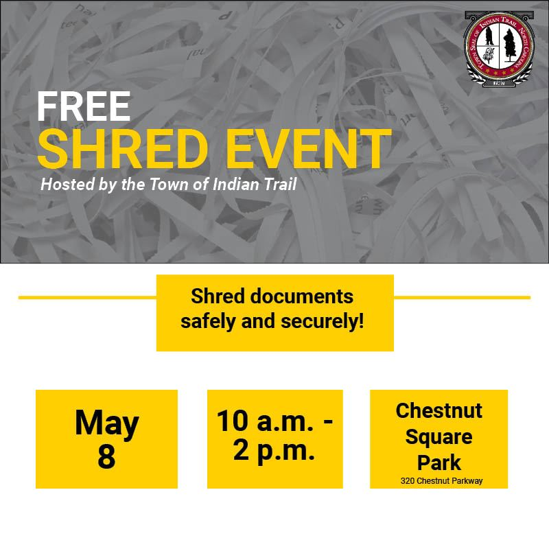 Shred Event Social Media Graphic